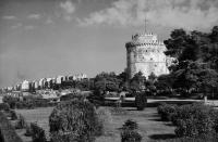Ο Λευκός Πύργος και το πάρκο του τη δεκαετία του 1950