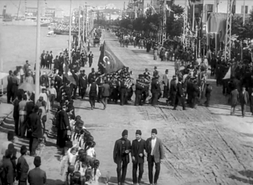 Από την υποδοχή του Σουλτάνου - 1911
