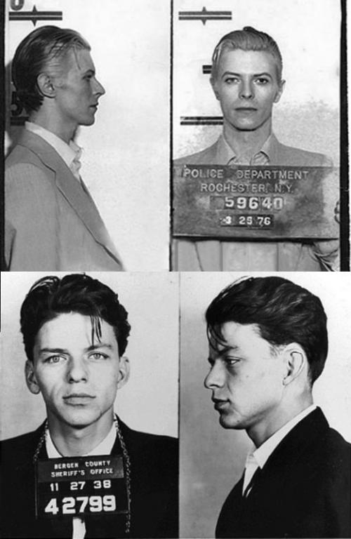David Bowie και Frank Sinatra