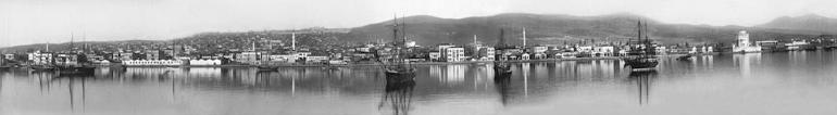 Πανοραμική άποψη της πόλης το 1885