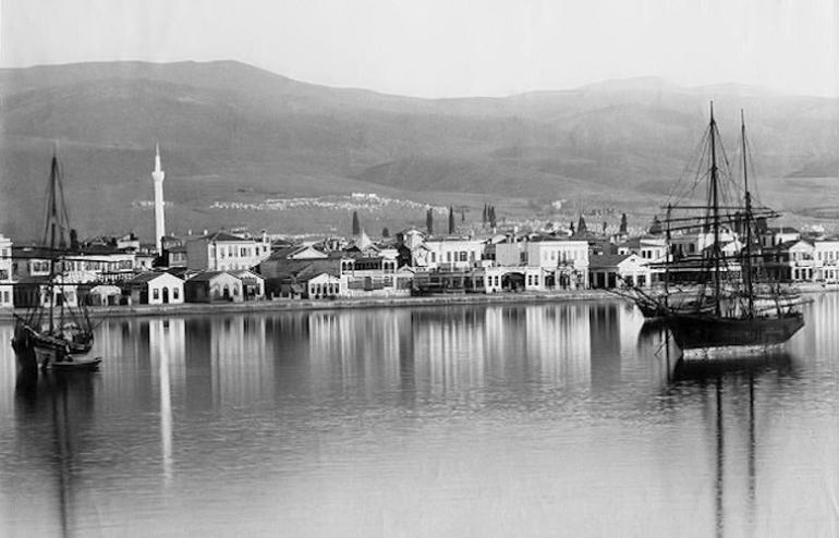 Πανοραμική άποψη της πόλης το 1885 - λεπτομέρεια